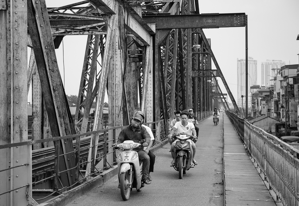 Long Bien Bridge - Hanoi